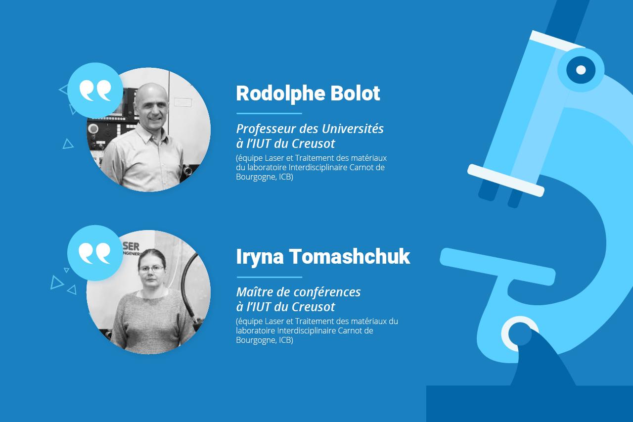 Rodolphe Bolot, Professeur des Universités, et Iryna Tomashchuk, Maître de conférences, livrent leurs points de vue d'experts !