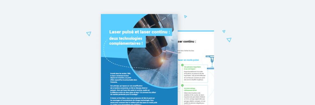 Le laser pulsé et le laser continu comparés dans un livre blanc !